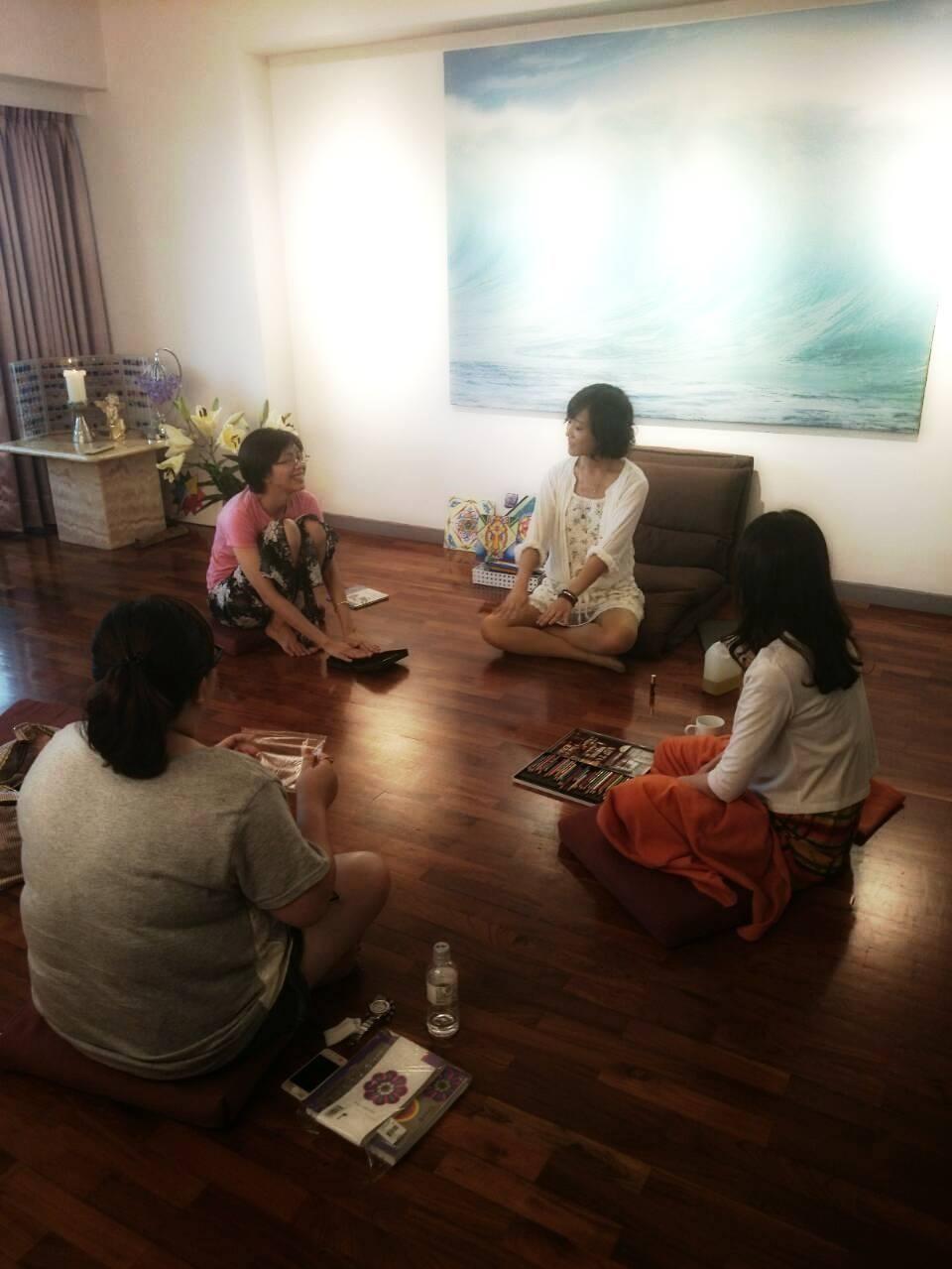 香繪療法:一個人的療癒分享會