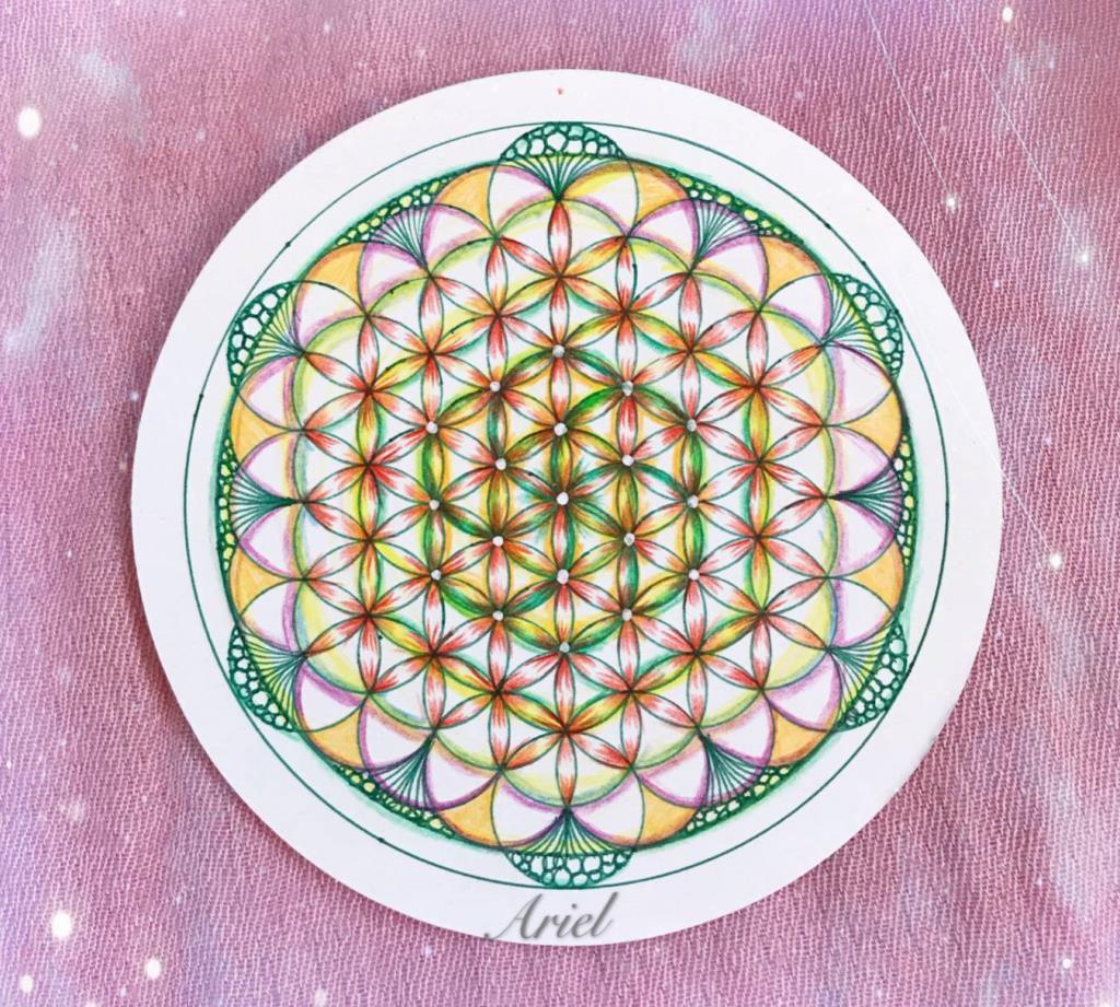 愛分享系列:靈性意識領袖之生命之花